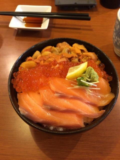 北海道のご飯。