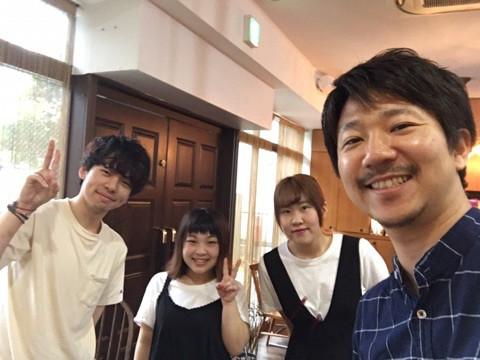 北海道美容専門学校からサロン見学に来てくれました^ ^